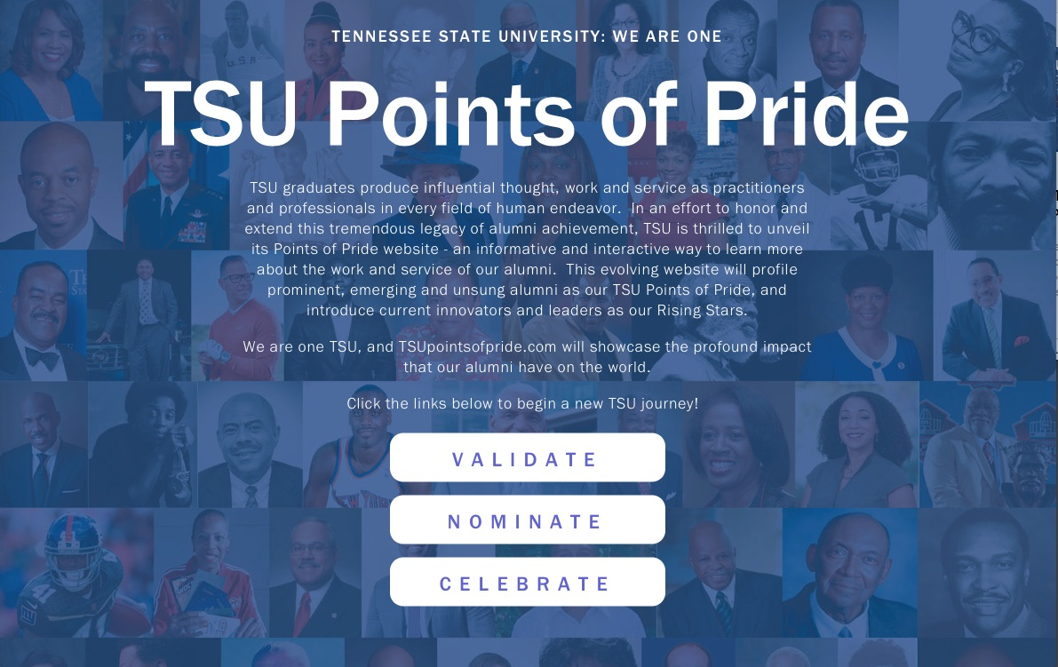 TSU Points of Pride