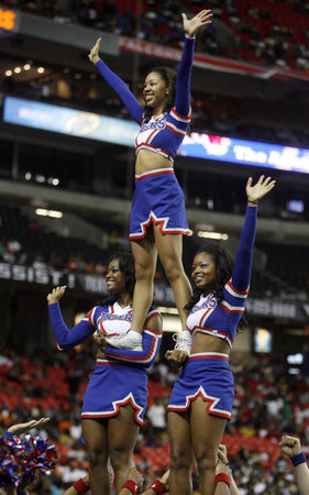 Tennessee State University Cheerleader Nicia Cortez