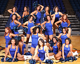Tennessee State University Cheerleader