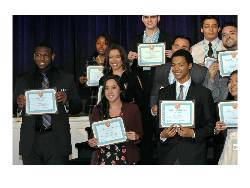 MARC students with awards
