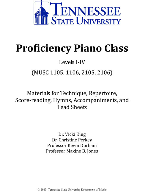 TSU Piano Book