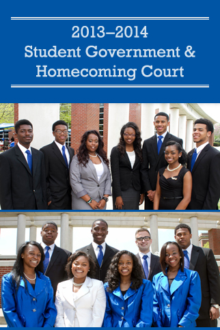 Student Government and Homecoming Court